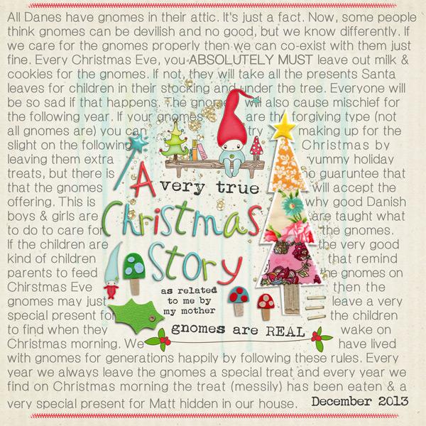A Very True Christmas Story