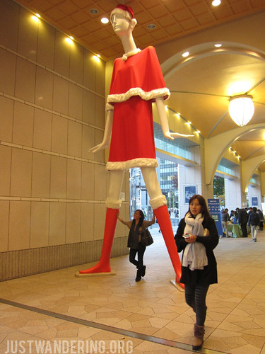 Nana-chan at Meitetsu Department Store