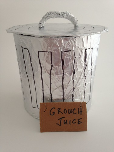 CraftyGoat's Notes: Oscar the Grouch Trashcan Punch Bowl