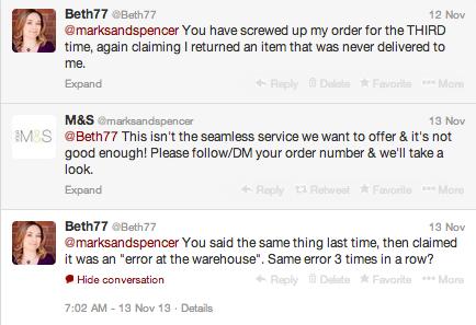 M&S tweet 2