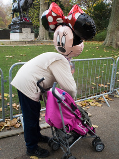 Minnie Mouse, London