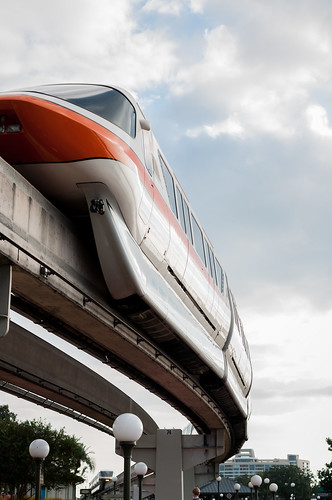 Monorail Monday - Seeing Double by Jeff.Hamm.Photography