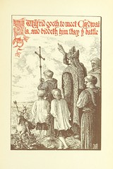 """British Library digitised image from page 287 of """"Cædwalla : or, the Saxons in the Isle of Wight : a tale"""""""
