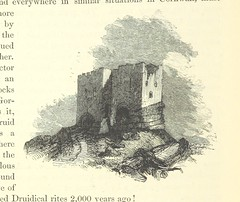 """British Library digitised image from page 218 of """"An Illustrated Itinerary of the County of Cornwall"""""""
