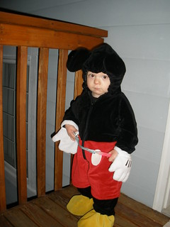 Matthew as Mickey