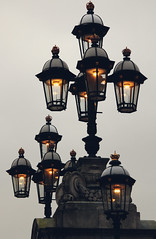 Lights on [Buckingham Palace]