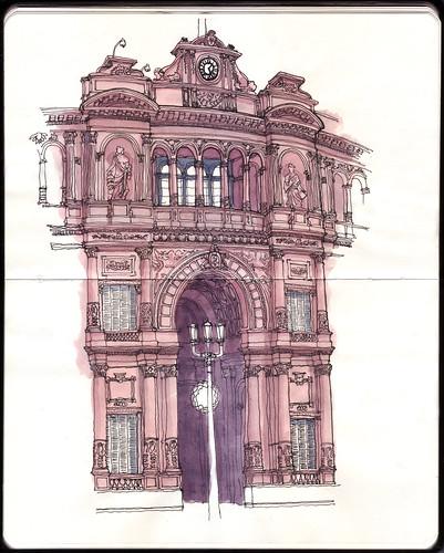 Casa Rosada / Pink House: by ftessa