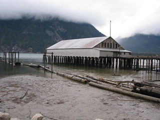 Bella Coola Estuary Boathouse - 4