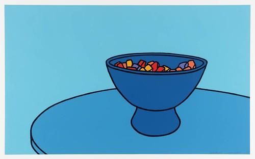 Patrick Caulfield, Bol de bonbons, 1967