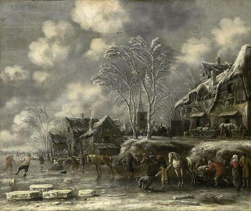 004-La cara del invierno-detalle-Thomas Heeremans, 1675-Rijkmuseum