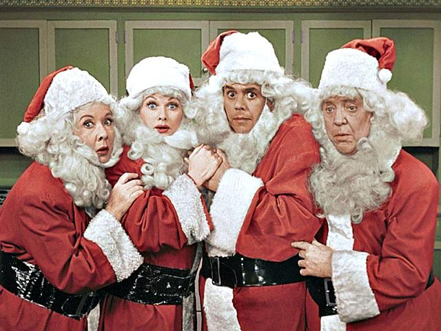 I Love Lucy Christmas Show - originally broadcast December 24, 1956 - colorized version first broadcast December 18, 1989