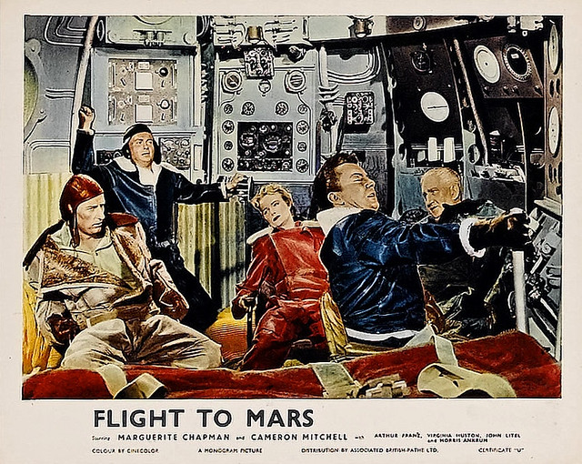 Women Flight to Mars 1951 - Pics about space