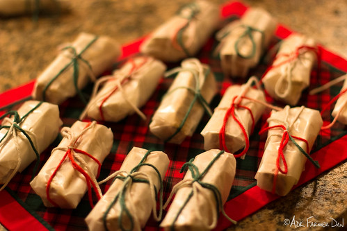 Christmas Torrone - all gift wrapped-up.