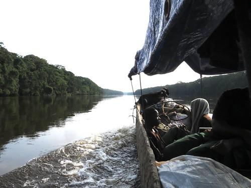 looking upriver after Obenge
