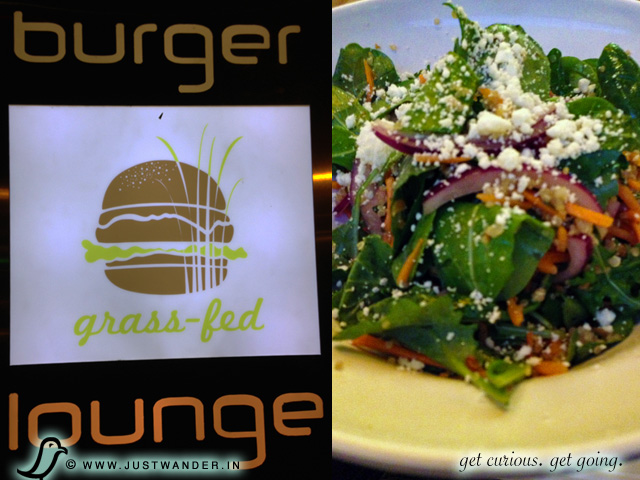 Burger Lounge in Little Italy, San Diego - Organic Quinoa Salad