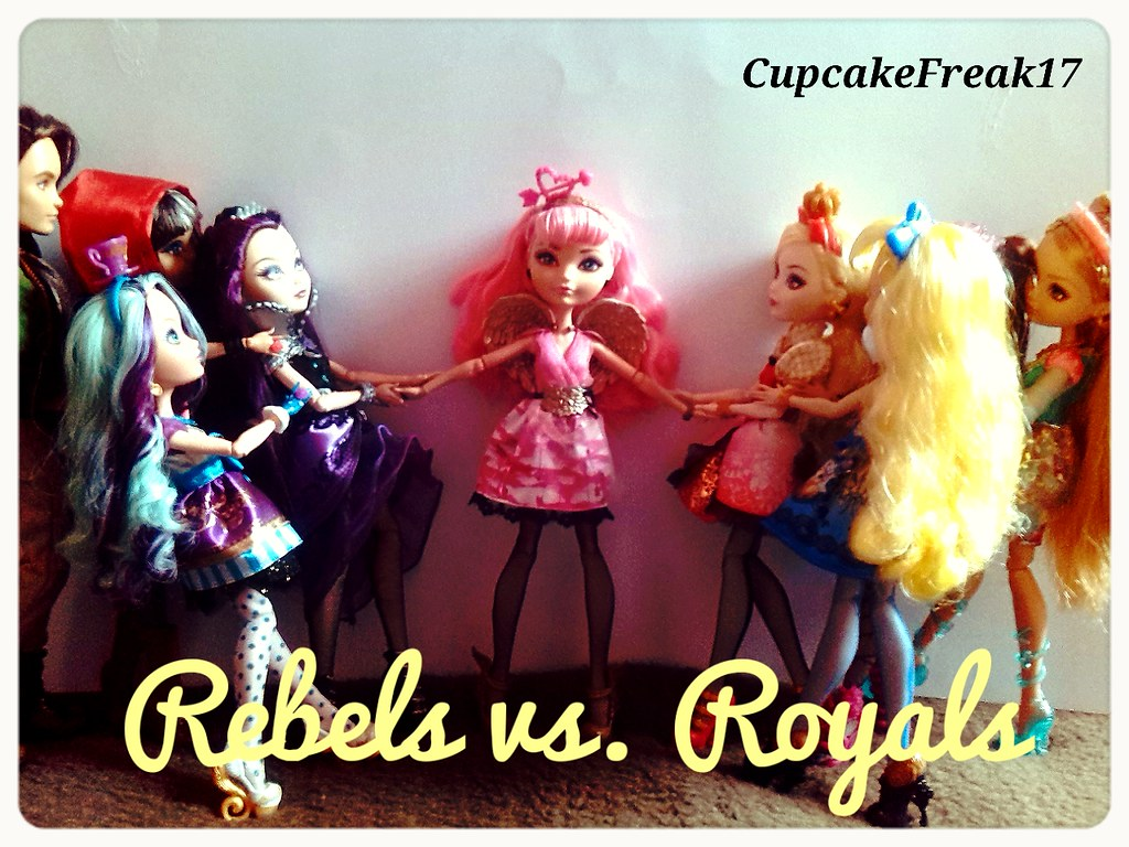 Rebels Vs Royals Lets Fight Rochellegoyle Cupcakefreak17
