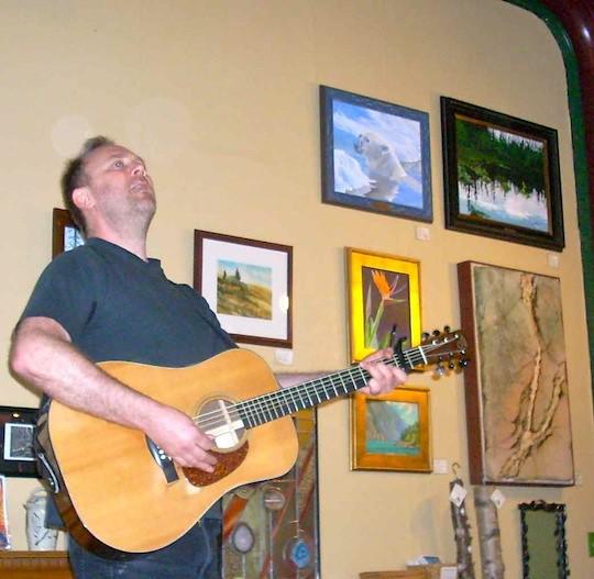 Dave Rovics at Resurrection Seward