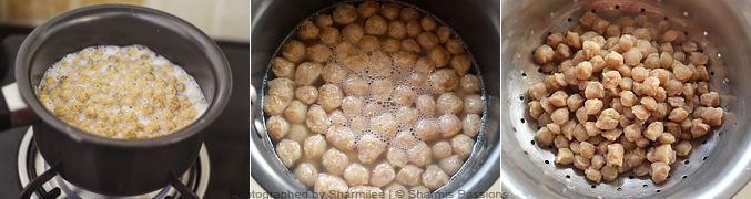 How to make Soya Keema Fritters- Step1