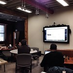 Lunch and Learn at the Hive today.