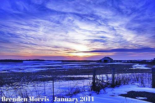 sunset snow snowy missouri plattecounty platteco