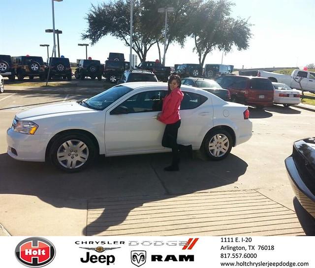 Chrysler Dealership Arlington Tx: Thank You To Krista Escobar On Your New 2014 #Dodge