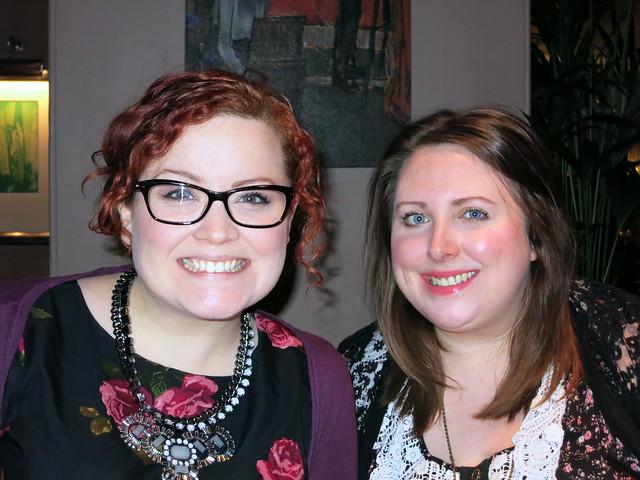 Kirsty & Lynne at Tempus
