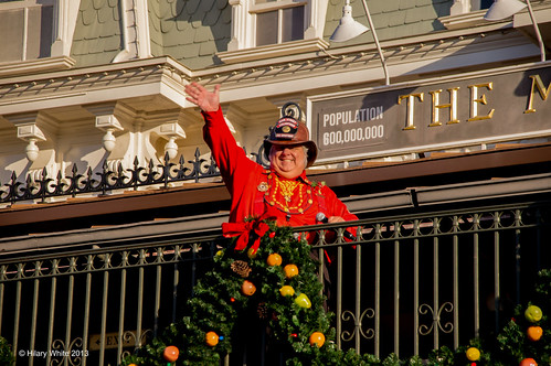 Magic Kingdom Welcome Ceremony - Fire Chief Smokey Miller