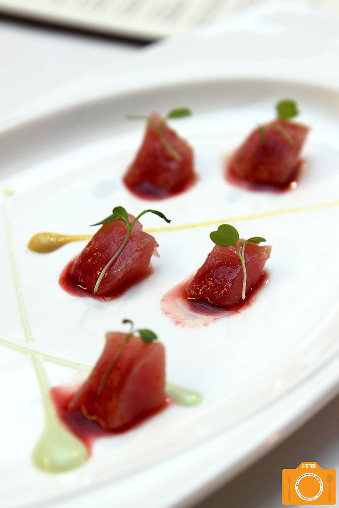 The Goose Station Tuna Crudo