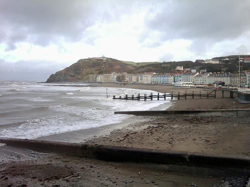 Aberystwyth promenade by Helen in Wales