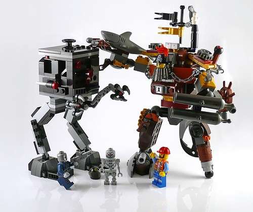 LEGO The Movie 70807 MetalBeard's Duel 23