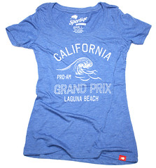 Retro Grand Prix Racing T Shirt by Sportiqe Apparel
