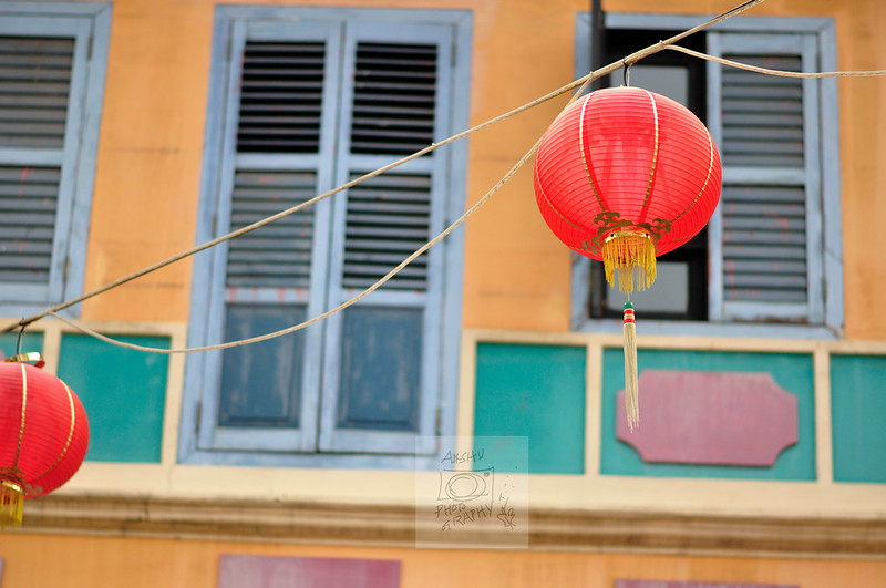 Red Lanterns in Chinatown