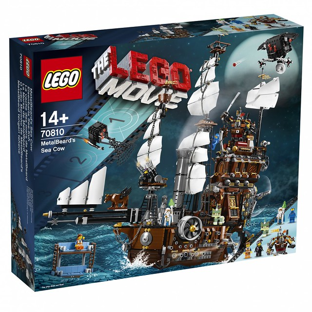 LEGO The Movie 70810 - MetalBeard's Sea Cow