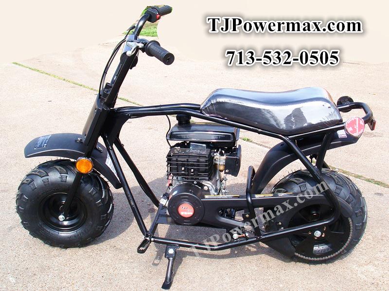 79cc Mini Bike Black