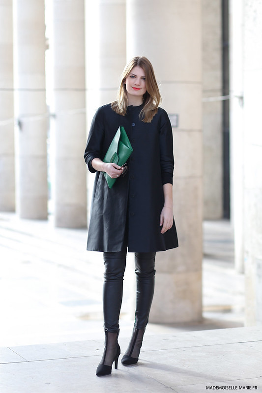 Natacha at Paris fashion week