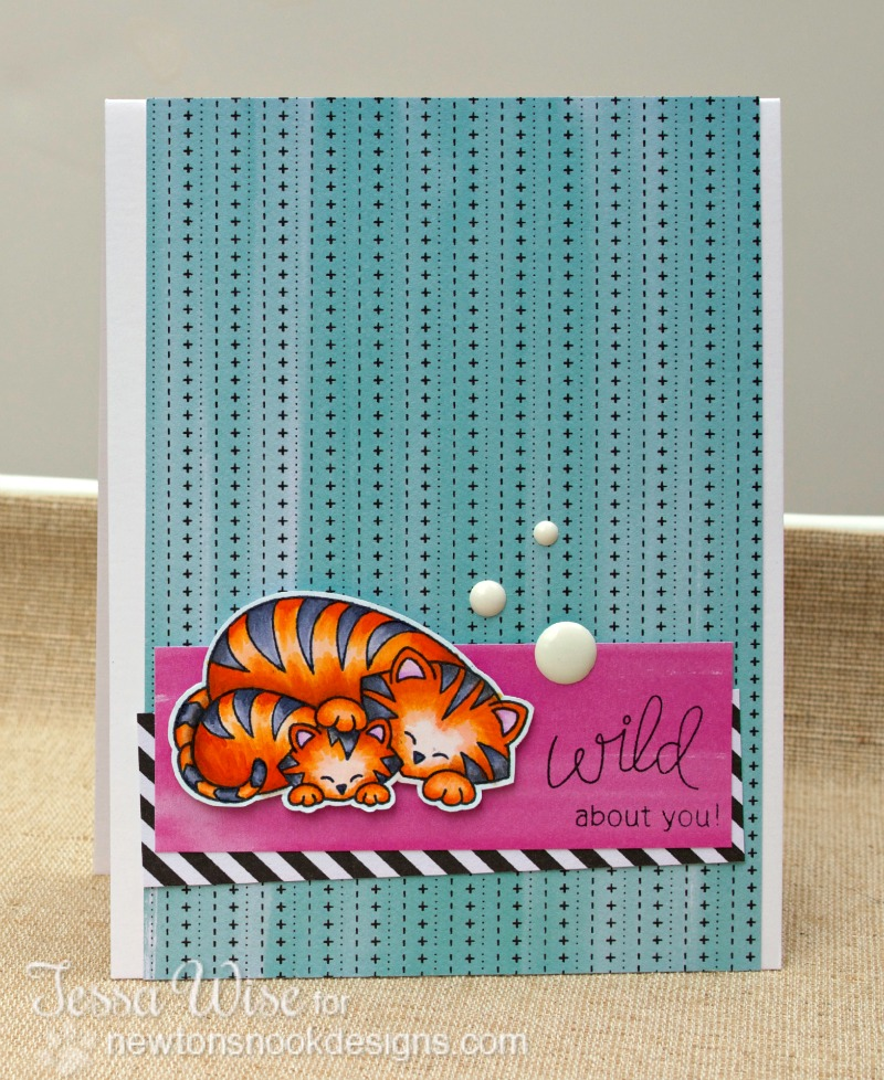 NEWTONS NOOK Wild About You Card
