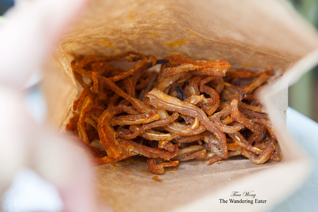 Bag of crispy pigs' ears
