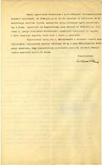 III/2.b. Özvegy Váron Péterné piacon való árusításra szóló engedélye elutasítását megfellebbezte.