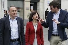 Ramiro González, Izaskun Bilbao eta Gorka Urtaran