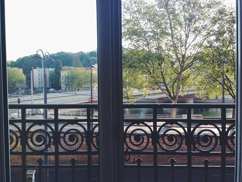 Foto del balcón del Hotel du Tourisme - Lyon