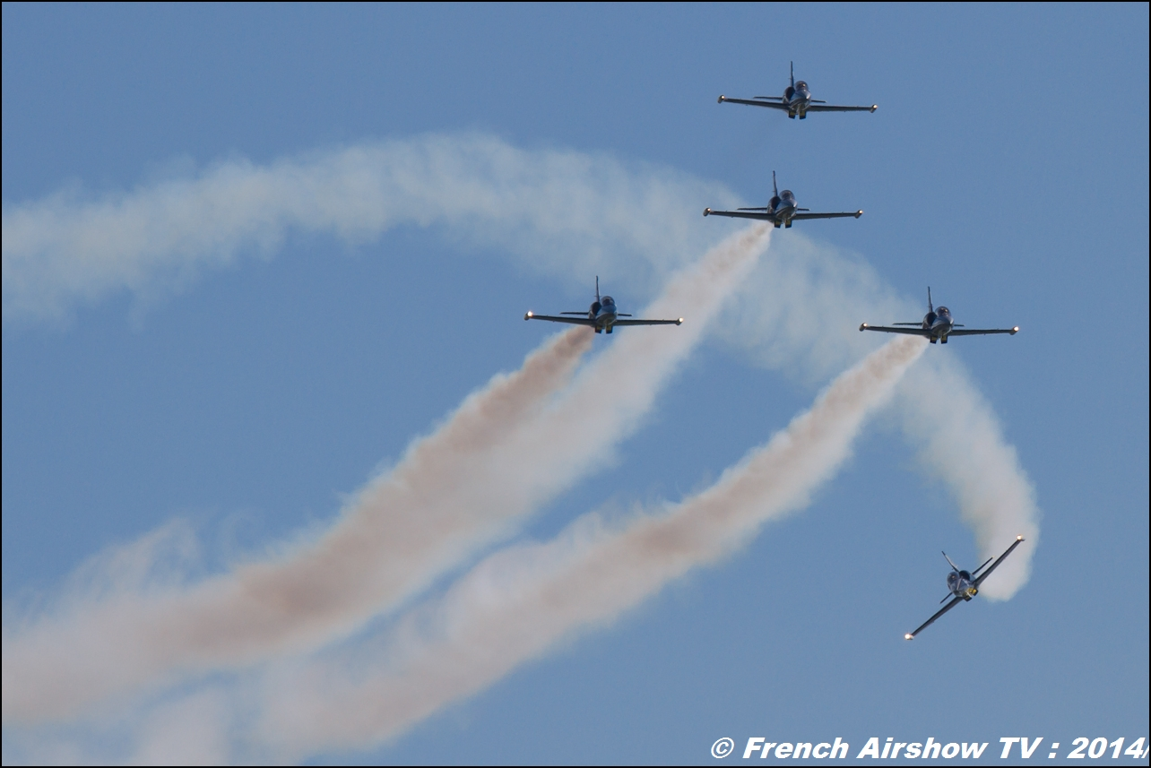 Patrouille Breitling ,Meeting Aerien 2014