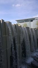 Waterfall at Yerba Buena Gardens