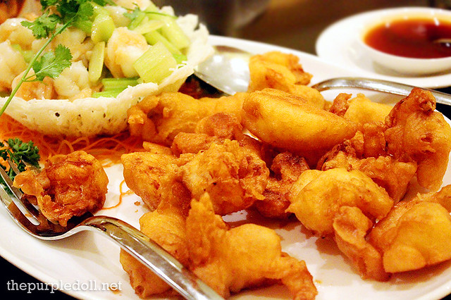 Two Variety of Prawn (Sauteed and Crispy)