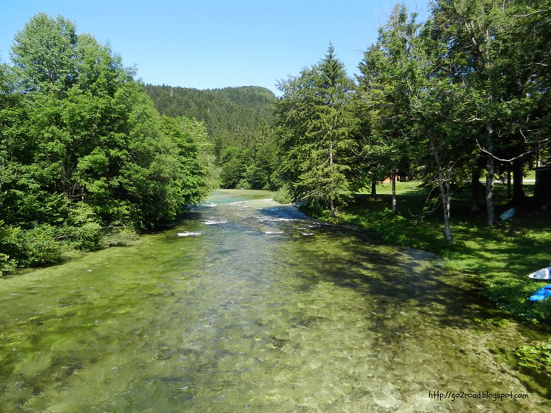 Словения, речки горные