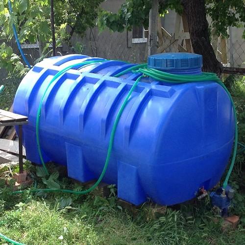 Пока колодец полон - делаем запасы воды на август! #старыйкрым