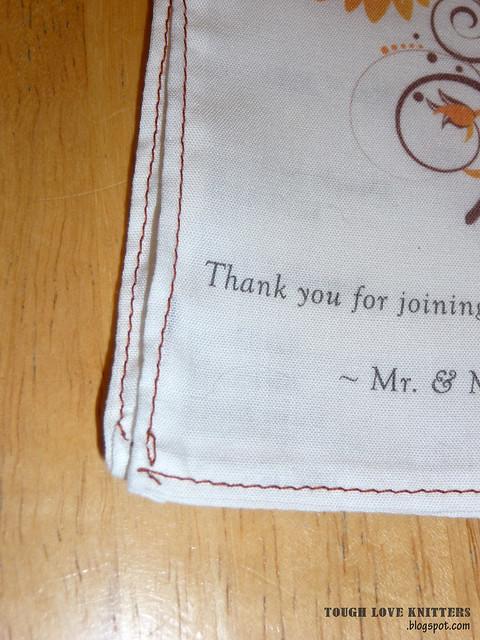 Wedding Handkerchief - Embroidery (10)