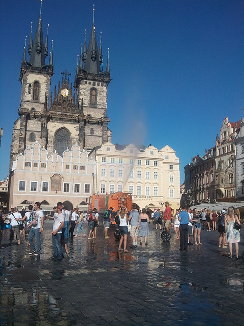 Beach in the city - Prague (7)