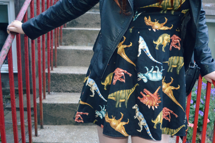 dinosaur dress