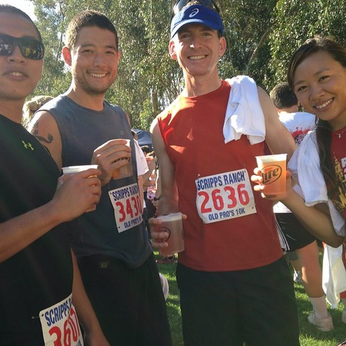 Fourth of July. Who are you calling old? Old pros 10k. @servicenow running club.