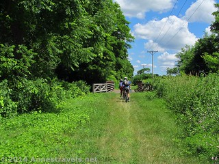 North of Mount Morris, New York, on the Genesee Valley Greenway